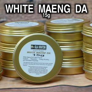 White Maeng Da Kratom - 15g trial size - Glakratom